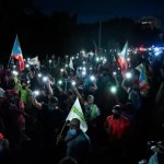 Más de 4 mil personas molestas protestaron por apagones en Puerto Rico