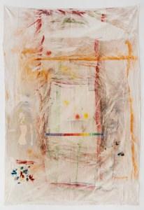 """Marcel Alocco, La Peinture déborde """"A"""", 1970 - 1974. © Grégory Copitet"""