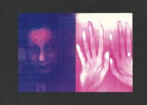 Amal Abdenour, Sans titre, Palais de Chaillot, 1974.