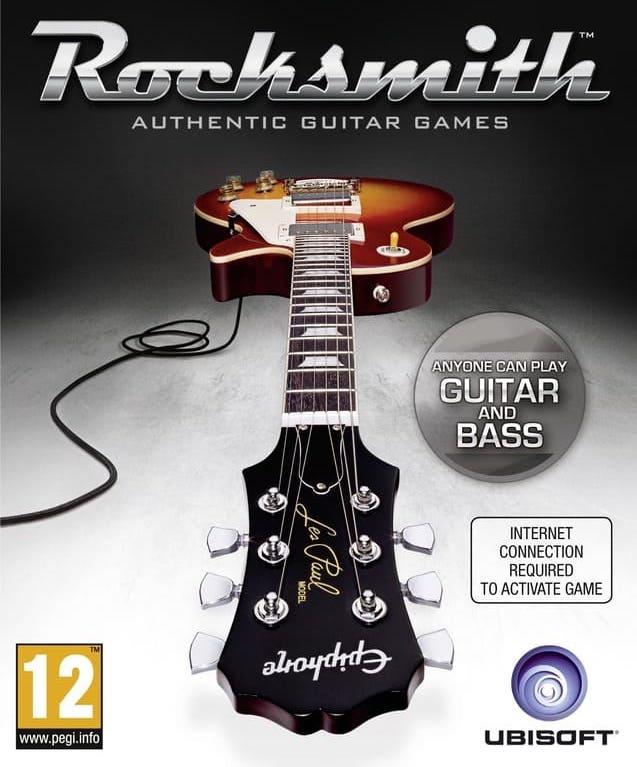 """Jaquette du jeu Rocksmith pour l'article """"Pédagogie 2.0 : Ma Vision De L'Éducation"""""""