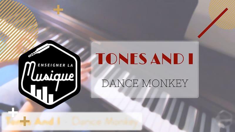 """Image de lien YouTube pour Dance Monkey de Tones And I pour l'article """"Le Mode mineur : Partie 1 : La gamme mineure naturelle"""""""