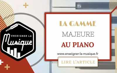 La Gamme Majeure Au Piano 🎹
