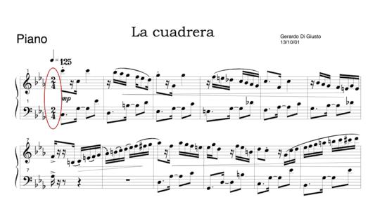 """Signature rythmique pour l'article """"Rythme Et Solfège"""""""