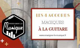 Les 4 Accords Magiques À La Guitare - Enseigner La Musique