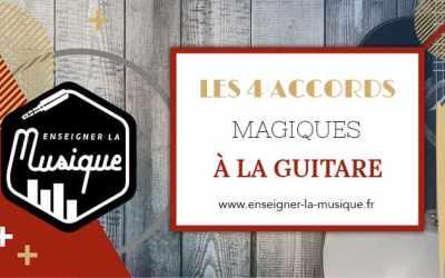 Les 4 Accords Magiques À La Guitare 🎸