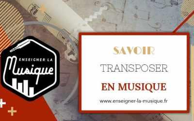 La Transposition En Musique