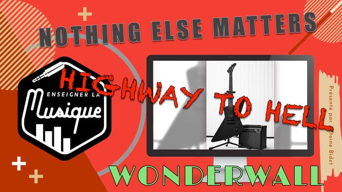 Bonus 2 - Apprendre 3 morceaux de guitare