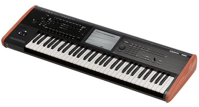 """Clavier Workstation Kronos 61 pour l'article """"Bien Choisir Son Clavier"""""""