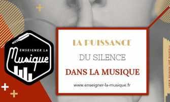La puissance du silence dans la musique - Enseigner La Musique