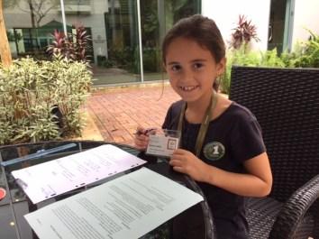 En visite à l'INSEAD à Singapour