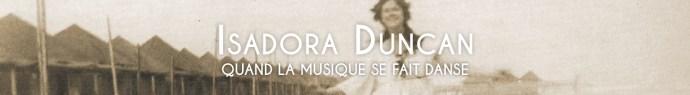 Bannière Isadora Duncan
