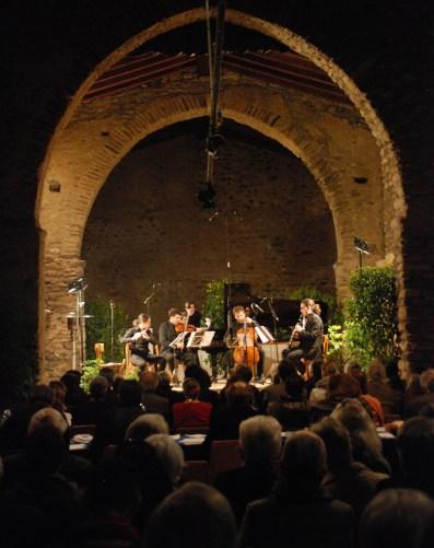 L'Ensemble Calliopée lors du Concours International de Composition de Prades en 2013
