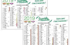 Distribution de calendrier