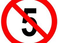 Non à un cinquième mandat !