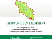 Autonomie des quartiers