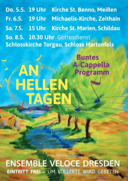 Plakat Ensemble Veloce 2016