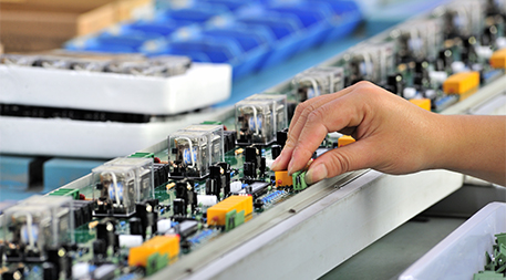 Electronics production line