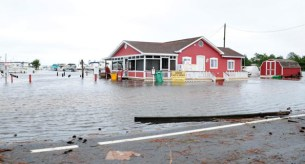 climate change, Lewes Beach, flooding