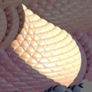 Peacock Motif, Complex Composition