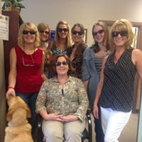 Some of Ensight Skills' expert, low-vision team members!