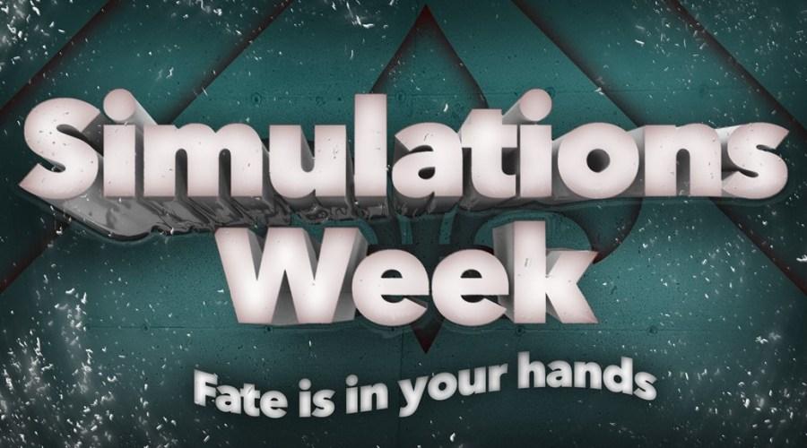 Simulations Week Main Graphic