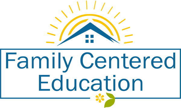 Family Centered Education Logo 2 inches