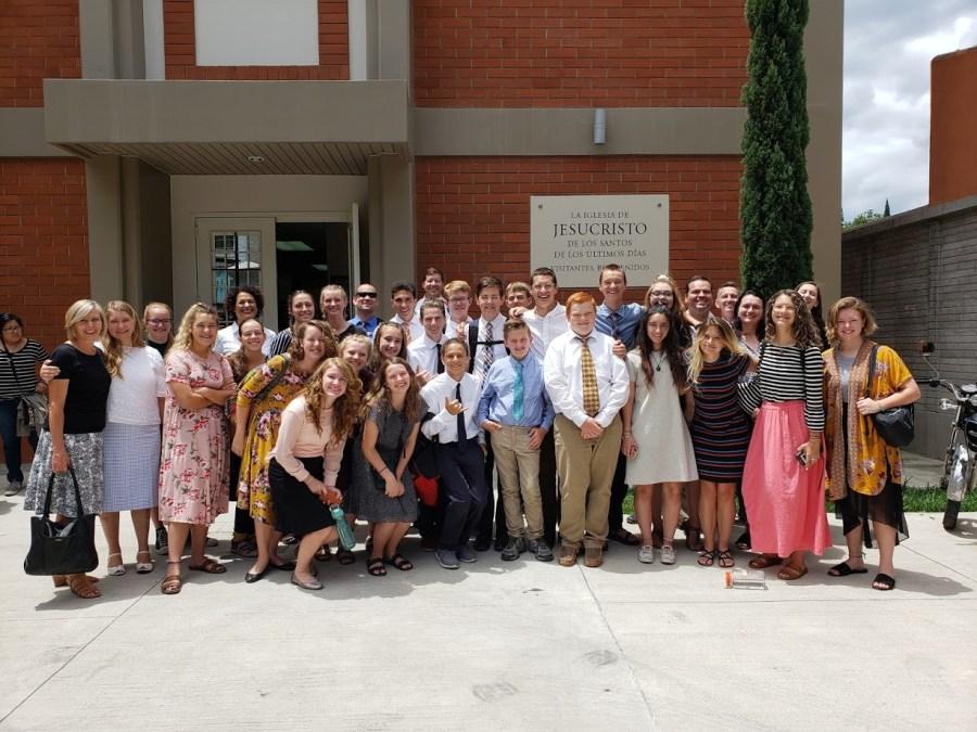 Group Photo at Church