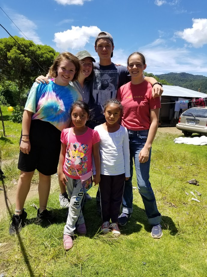 Wells with Guatemalans
