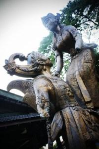 Patung di Taman SriWedari