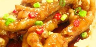 Makanan ceker ayam