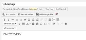 Membuat Sitemap WordPress