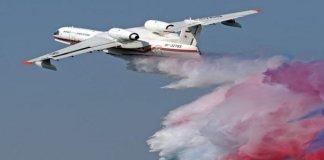 Pesawat Amphibi Beriev BE200CS Rusia