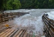 Lumpat adalah Alat Tradisional Penjebak Ikan di Bengkulu