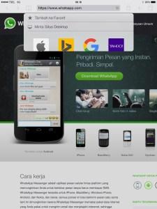 Cara Install WhatsApp di iPad