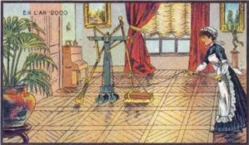 Trabalho doméstico, Jean Marc Cótè, 1899