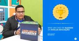 Quero aprender matemática: curso Evolua melhora desempenho escolar de aluno