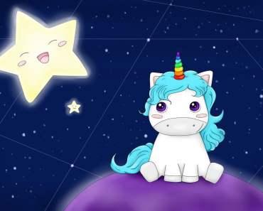 desenho de unicornio para imprimir e colorir