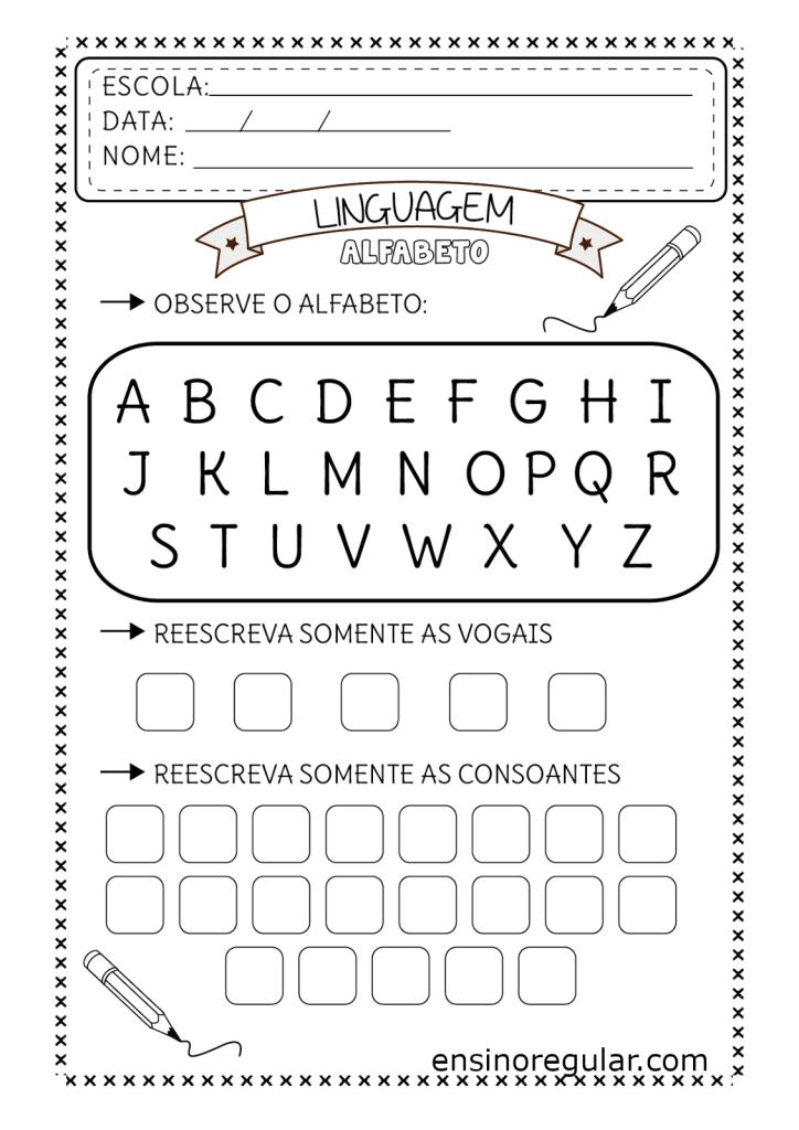 separando vogais e consoantes