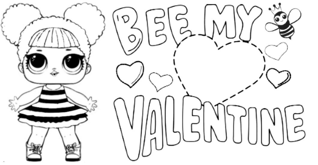 desenho para colorir lol queen bee