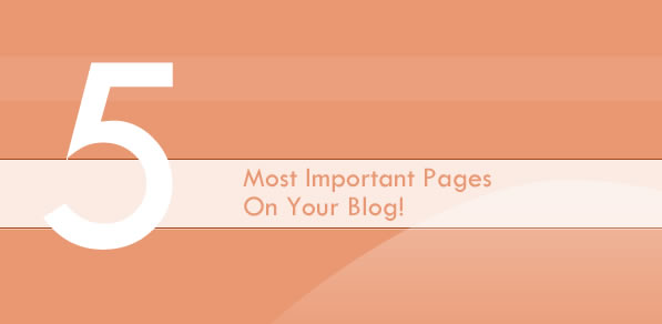 important blog pages