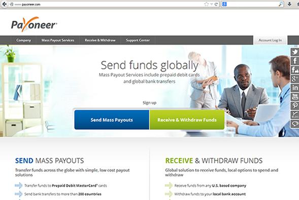 Free Payoneer Prepaid Debit Card