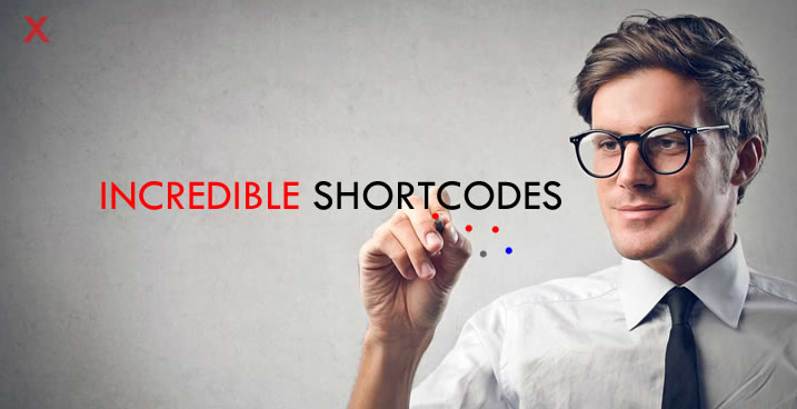 x theme shortcodes