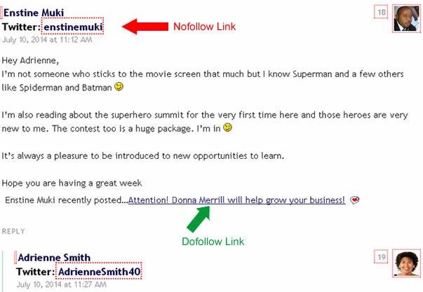 how to make dofollow backlinks