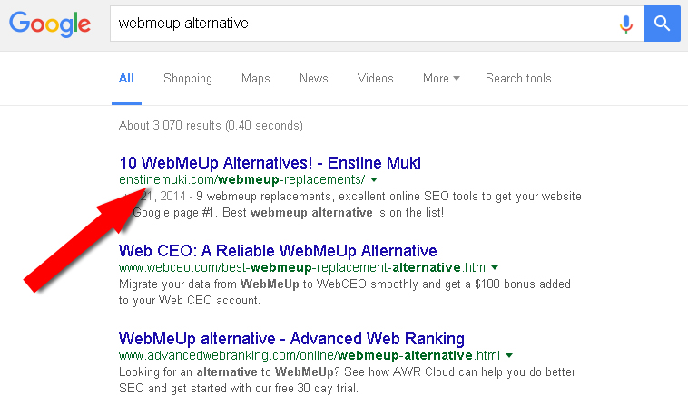 webmeup alternative