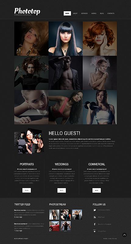 Cherry Photo Studio WordPress Theme