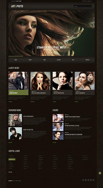 Photography Web Responsive WordPress Theme