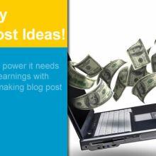 money making post ideas