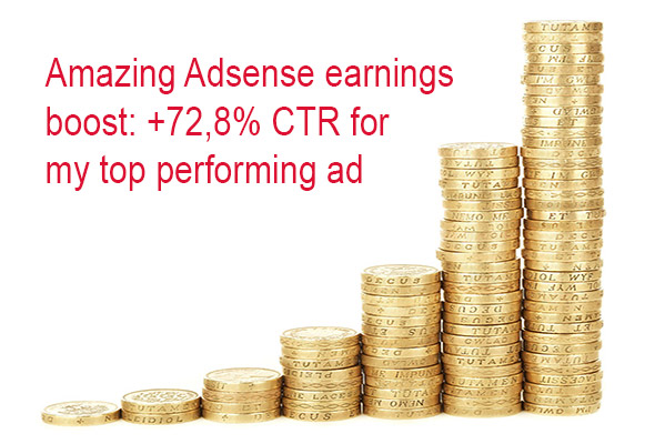 how to increase ctr adsense