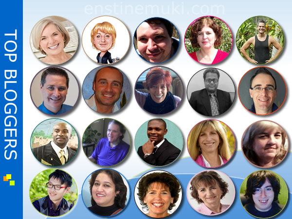 20 top bloggers