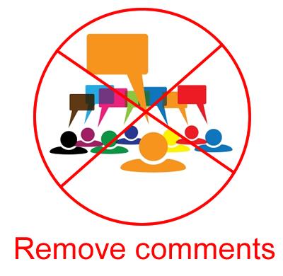 remove comments